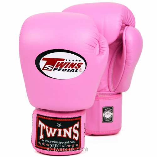 Twins Standard Boxing Gloves - Pink